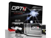 OPT7® Blitz S2 35w HID Kit - 9004 (HB1) Hi-Lo (5000K Pure White) - Xenon Conversion