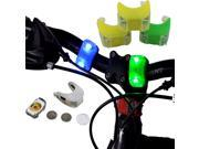 Bike Cycling Lamp Silicone Frog Head Front Lamp Warning Flash Rear 2 LED Light 9SIA4Z51VX9096