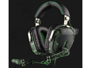SADES A90 7.1 USB Camouflage Color Stereo Gaming Headphone Headset Surrounding Sound Computer Game with Mic 6 Light