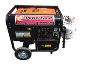 POWERLAND PD3G10000E Portable Tri-Fuel Gasoline Propane Natural Gas Generator 10000 Watt 16 HP