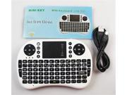 TeKit NTRAC0529 500RF 2.4G mini wireless keyboard touchpad i8 remote mouse and keyboard player