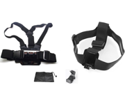 Chest Harness & Head Strap Mount For GoPro HD Hero3 Hero3+ Hero4 Go Pro Chesty 3 9SIA50M2EV3999