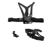 Chest Harness & Head Strap Mount For GoPro Hero HD 2 3 3+ Go Pro Chesty PLUS 9SIA50M2EV3997