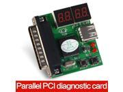 New USB PCI PC Notebook Laptop Analyzer Diagnostic Motherboard POST Card,Parallel PCI diagnostic card
