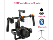 RTF iFlight G15 CNC DSLR Handle Brushless Gimbal DSLR G10 Upgrade w/Alexmos BASECAM Bluetooh Motor for 5D/GH3//GH4/A7S/BMPCC