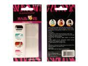KLEANCOLOR Nail It Design Guide Strips - 4 Styles 98 Strips