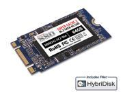 MyDigitalSSD 64GB Super Cache 2 42mm SATA III (6G) M.2 2242 NGFF SSD with FNet HybriDisk Cache Software - MDM242-SC2-064
