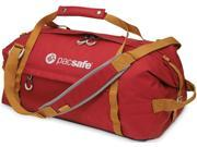 Pacsafe Duffelsafe AT45 Anti-Theft Carry On Adventure Duffel - Chili / Khaki