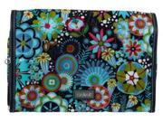 Hadaki Coated Toiletry Pod Roll-Up - Dixie Daisies