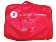 PackSmart Underwear Travel Bag System - Red