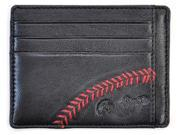 Baseball Stitch Card Case Black