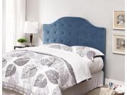 Blue Full/Queen Tufted Headboard
