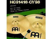 Meinl HCS1418-CYS8  HCS Crash Cymbal Pack w/Free Stacker