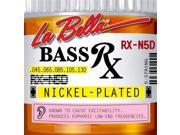 La Bella Rx N5D Bass Rx Nickel Plated 5 String Set 45 130
