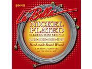La Bella SN45 Nickel Plated Round Wound – Standard Light 45 105