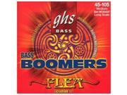 GHS 6045 Flea Signature Bass Boomers Electric Bass 4 String Set 045 105