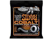 Ernie Ball Cobalt Hybrid Slinky Bass Strings, 45-105