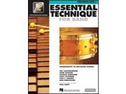 Hal Leonard Essential Technique for Band – Intermediate to Advanced Studies-Percussion/Keyboard Percussion
