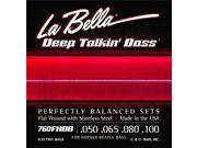 La Bella 760FHBB Beatle Bass Stainless Steel Flat Wound 50 100