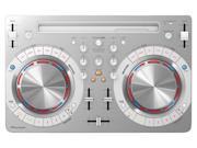 Pioneer DDJ-WEGO3 Compact DJ Controller (White)
