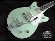 Gretsch G6134TDC-LTD15 Limited Edition Penguin Double Cutaway Electric Guitar Broadway Jade (SN:JT15092809)
