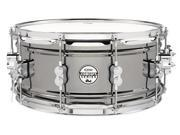 Pacific by DW 6.5 x 14 Black Nickel Over Steel Snare
