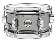 Pacific by DW 6 x 10 Black Nickel Over Steel Snare
