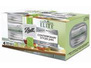 Ball Jar Elite Pltnm 4Pk 3112-3144