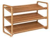 Honey Can Do Shoe Shelf 3Tier Bam 2182-4099