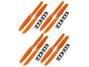 4pairs GemFan 6X3 6030 Multi-rotor Propeller QAV250 Quadcopter Prop Orange