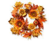 "22"""" Sunflower Wreath"" 9SIA55A5A08068"