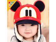 The new baby hat baby hat children younger mice elf hat Dongkuan Korean children hat ear cap , dark beige