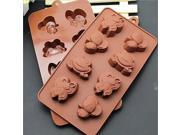 Fashion Silicone Butterfly Chocolate Ice Candy Mould Cake Decorating Ktchen Bakeware Cooking Tools(Random Color)