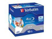 Verbatim BD-R 25Gb Pk 10 Printable blu-ray disc blue ray high quality 9SIA5711N33435