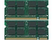 4GB Kit (2x2GB) PC2-5300 DDR2-667 200-Pin SODIMM Laptop Memory For iMac Mid 2007