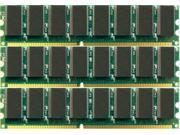 for HP Pavilion A350n 3GB (3X1GB) PC2700 333MHz 184-Pin DIMM DDR Unbuffered Non-ecc Memory