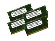 16GB (4x4GB) PC3-8500 DDR3-1066MHZ 204PIN SODIMM Laptop RAM MEMORY