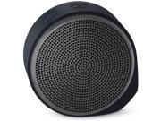 Logitech X100 Black(grey) Mobile Blutooth Wireless Speaker 984-000353