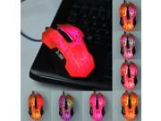 3200 DPI 7 Color Change LED Optical Adjustable Wired Gaming USB Mouse Laptop PC