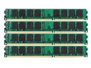 16GB (4x4GB) PC3-10600 1333MHZ DDR3 240-pin DIMM Unbuffered NON-ECC DESKTOP Memory