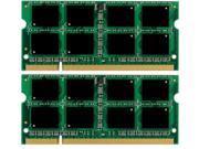 8GB (2*4GB) MEMORY 200-Pin Unbuffered Non-ECC PC6400 800 Mhz DDR2 SODIMM RAM for Dell Latitude E6400