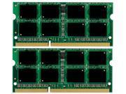4GB(2*2GB) DDR3 PC10600 204-Pin CL9 1.5V Unbuffered 1333 MHz NON ECC Laptop Memory Modules