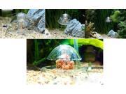 Clear White Plastic 6cm Snail Trap for Aquarium Fish Plants Leech Catch Environmental Nature