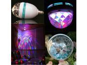 E27 3W Colorful Rotating RGB LED Stage Light Bulb Chrismas Party Voice-activated 9SIA57A20X2325