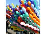 wholesale 100pcs mixed colors long animal twist latex balloons party screw Balloon good quality 9SIA57A2B15002