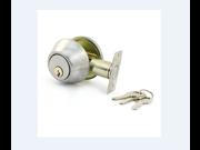 Water & Wood House Bedroom Metal Round Knob Security Door Gate Lock Set w Keys