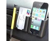 Universal Car Cell Phone Holder Stand Ticket Pouch Bracket Mount For iPhone GPS Air Vent Accessories