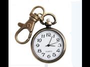 T&lounge Retro round keychain pocket watch