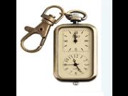 T&lounge Retro Keychain pocket watch double movement