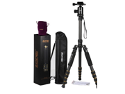 ZOMEI Z-699C Pro Tripod Monopod Carbon Fiber Portable Detachable Changeable Traveling with Ball Head for SLR Camera DSLR Camcorder